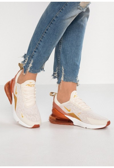 Nike AIR MAX 270 - Baskets basses light cream/metallic gold/terra blush/dusty peach/platinum tint