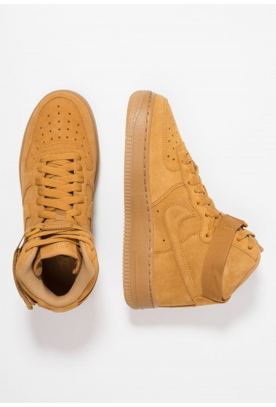 Nike AIR FORCE 1 LV8 - Baskets montantes wheat/light brown