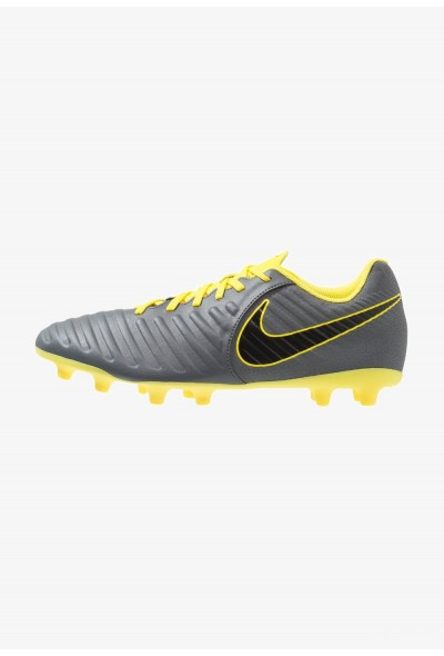 Nike TIEMPO LEGEND 7 CLUB MG - Chaussures de foot à crampons dark grey/black/opti yellow