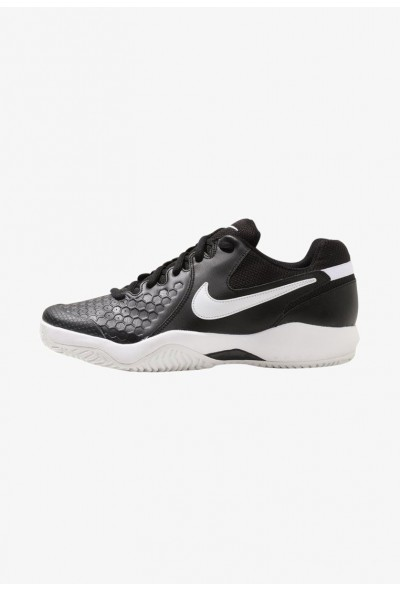 Black Friday 2019 - Nike AIR ZOOM RESISTANCE - Chaussures de tennis sur terre battue black/white