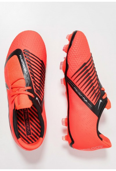 Nike PHANTOM ELITE FG - Chaussures de foot à crampons bright crimson/black/metallic silver