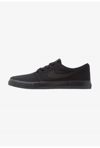 Nike PORTMORE II SS CNVS - Baskets basses black