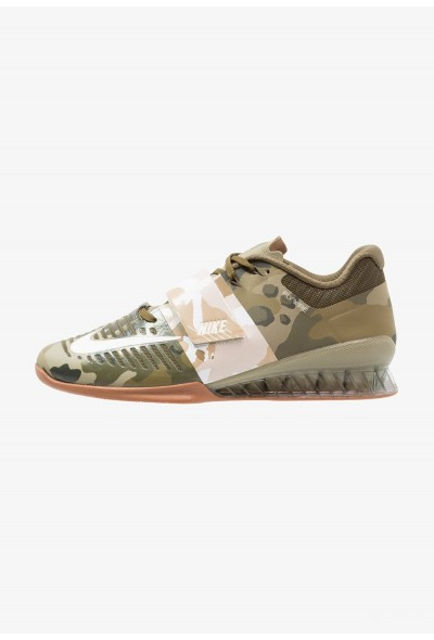 Nike ROMALEOS 3 - Chaussures d'entraînement et de fitness olive canvas/sail/neutral olive/medium brown