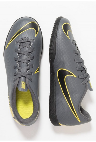 Nike MERCURIAL VAPORX 12 CLUB IC - Chaussures de foot en salle dark grey/black/opti yellow