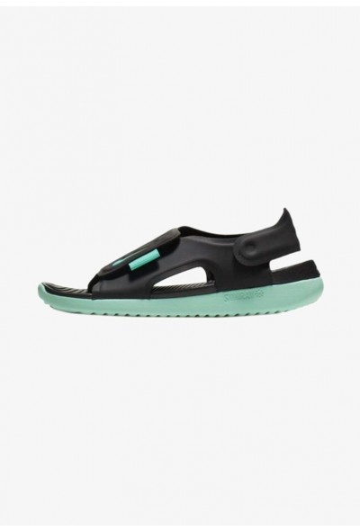 Black Friday 2019 - Nike SUNRAY ADJUST 5 - Sandales de randonnée black/mint