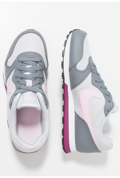 Nike MD RUNNER  - Baskets basses pure platinum/pink foam/cool grey/true berry