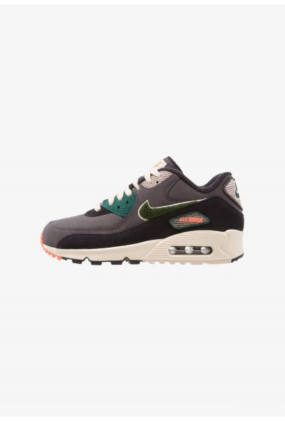 Nike AIR MAX 90 PREMIUM SE - Baskets basses oil grey/rainforest/light cream