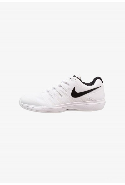 Nike AIR ZOOM PRESTIGE CLY - Chaussures de tennis sur terre battue white/black