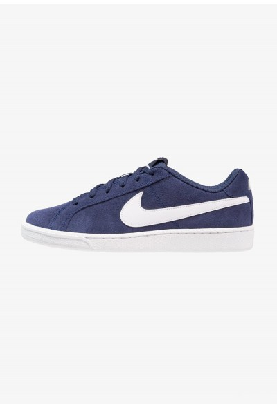 Nike COURT ROYALE SUEDE - Baskets basses midnight navy/white