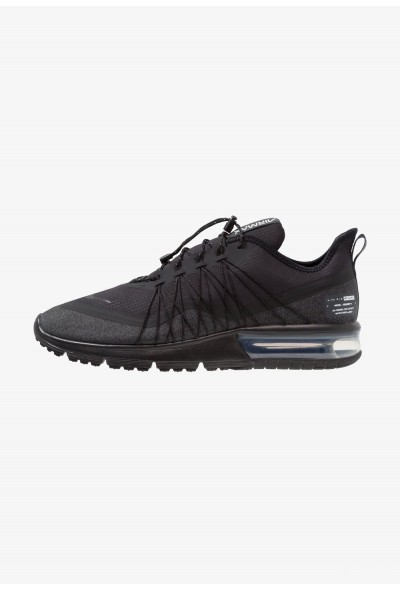 Black Friday 2019 - Nike AIR MAX SEQUENT 4 UTILITY - Chaussures de running neutres black/anthracite/white