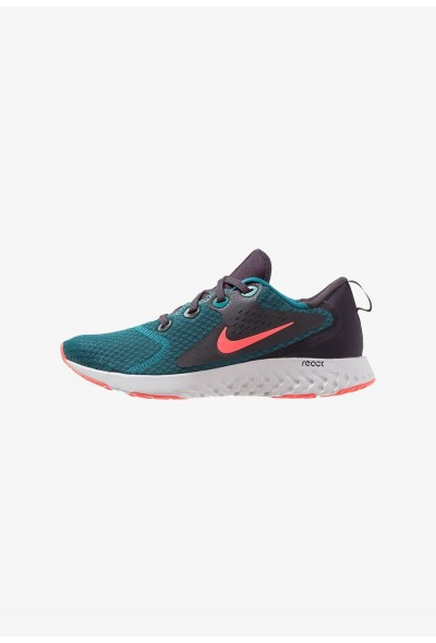 Nike LEGEND REACT - Chaussures de running neutres geode teal/hot punch/oil grey/vast grey