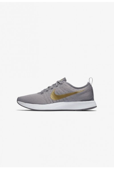 Nike DUALTONE RACER SE - Baskets basses gunsmoke/atmosphere grey/white/metallic gold
