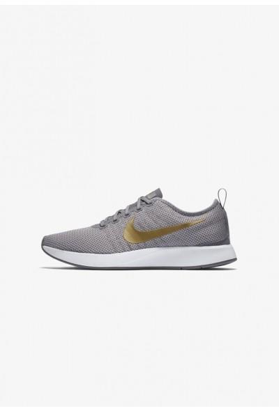 Nike DUALTONE RACER SE - Baskets basses gunsmoke/atmosphere grey/white/metallic gold
