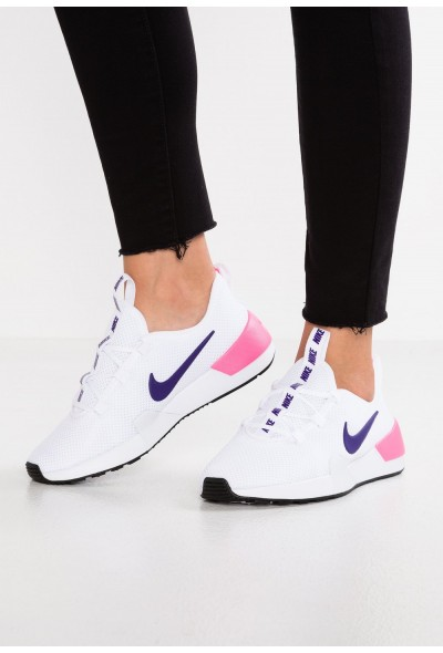 Black Friday 2019 - Nike ASHIN MODERN - Baskets basses white/court purple/laser pink