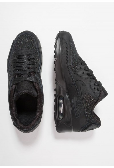 Nike AIR MAX 90 SE MESH (GS) - Baskets basses black/anthracite