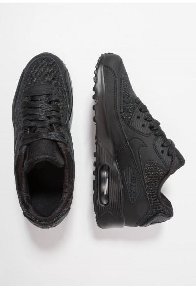 Nike AIR MAX 90 SE MESH (GS) - Baskets basses black/anthracite