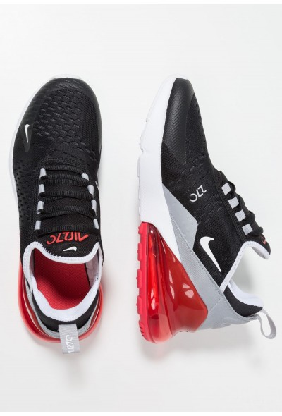 Nike AIR MAX 270 - Baskets basses black/white/ember glow/wolf grey