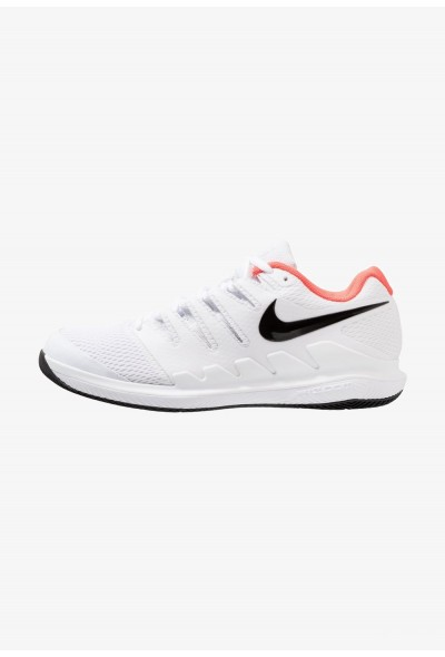 Nike AIR ZOOM VAPOR X HC - Baskets tout terrain white/black/bright crimson