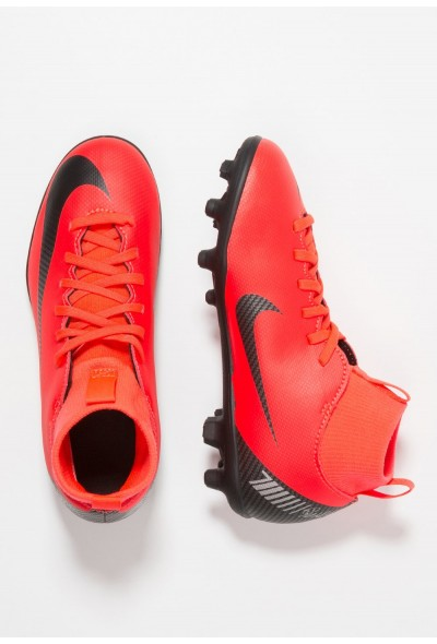 Nike CLUB CR7 MG - Chaussures de foot à crampons bright crimson/black/chrome