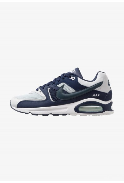 Nike AIR MAX COMMAND - Baskets basses pure platinum/armory navy/midnight navy/white