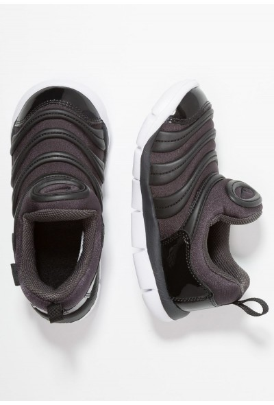 Nike DYNAMO FREE - Mocassins anthracite/white/black