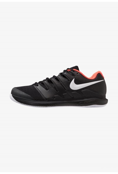 Nike AIR ZOOM VAPOR X HC - Baskets tout terrain black/white/bright crimson