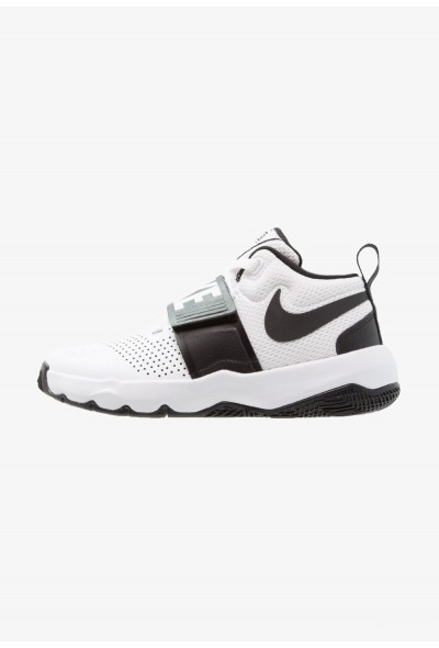 Nike TEAM HUSTLE D 8 - Chaussures de basket white/black