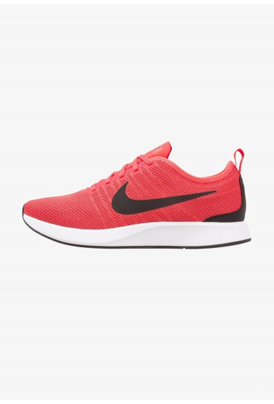 Nike DUALTONE RACER - Baskets basses track red/black/gym red