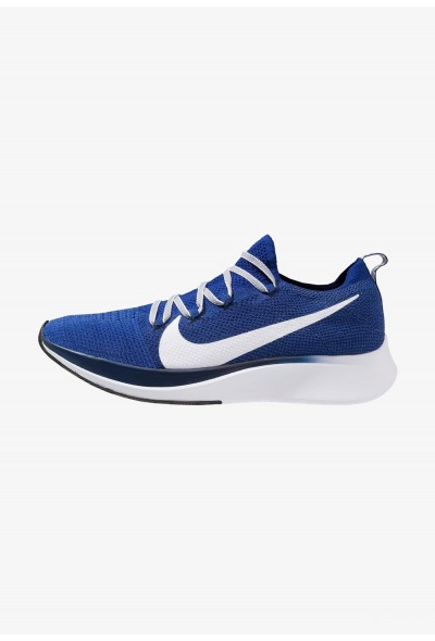 Nike ZOOM FLY FK - Chaussures de running neutres deep royal/white/blue void