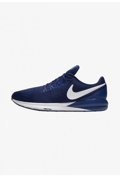 Nike AIR ZOOM STRUCTURE  - Chaussures de running stables dark blue/royal blue