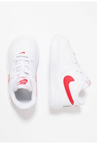 Nike FORCE 1 18 - Chaussures premiers pas white/university red