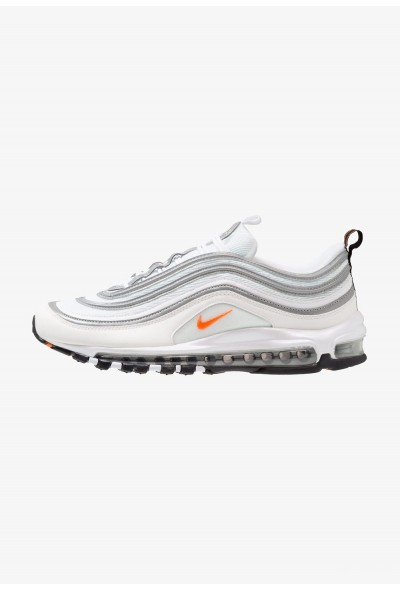 Nike AIR MAX 97 - Baskets basses white/cone/metallic silver