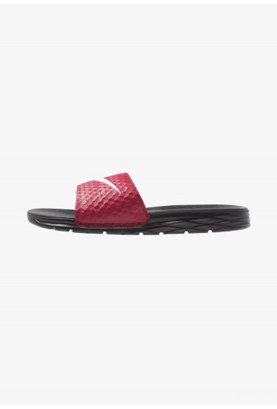 Nike BENASSI SOLARSOFT - Mules team red/white/black