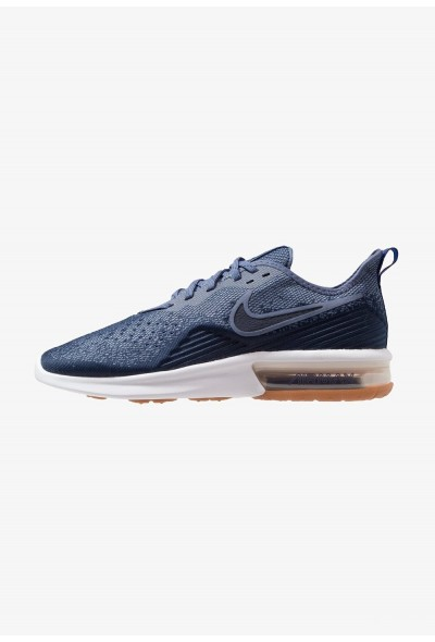 Black Friday 2019 - Nike AIR MAX SEQUENT 4 - Chaussures de running neutres midnight navy/obsidian/diffused blue/hyper royal/white