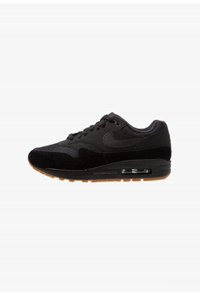 Nike AIR MAX 1 - Baskets basses black/medium brown