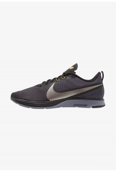 Black Friday 2019 - Nike ZOOM STRIKE - Chaussures de running neutres black/metallic pewter/gridiron/peat moss/light carbon
