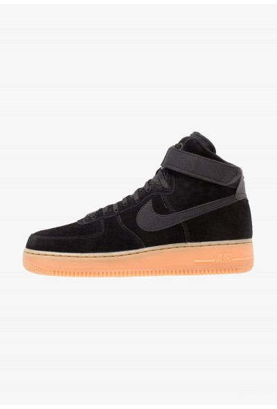 Nike AIR FORCE 1 HIGH 07 LV8 SUEDE - Baskets montantes black/medium brown/ivory