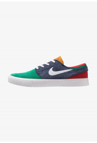 Nike ZOOM JANOSKI - Baskets basses lucid green/white/obsidian/university gold/university red/light brown