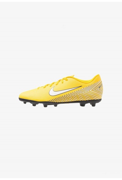 Nike MERCURIAL VAPOR 12 CLUB NJR MG - Chaussures de foot à crampons amarillo/white/black