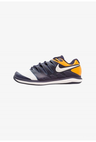 Nike AIR ZOOM VAPOR X CLAY - Chaussures de tennis sur terre battue blackened blue/phantom/orange peel