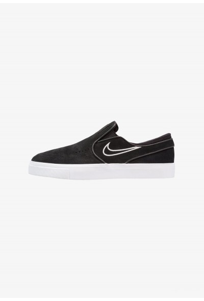 Nike ZOOM STEFAN JANOSKI - Mocassins black/light bone/white