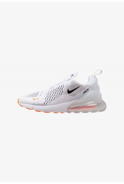 Nike AIR MAX 270 - Baskets basses white/black/total orange