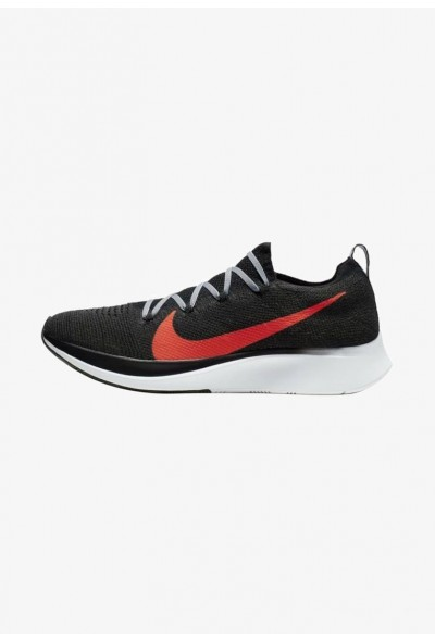 Nike ZOOM FLY FK - Chaussures de running neutres black/grey/red