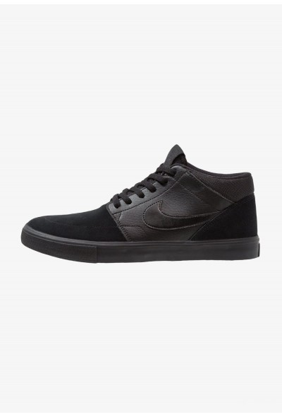 Nike PORTMORE II SOLAR MID - Baskets montantes black/anthracite