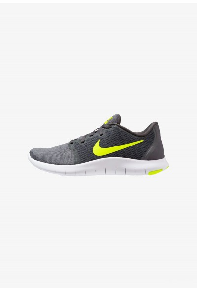 Nike FLEX CONTACT 2 - Chaussures de running compétition anthracite/volt/wolf grey/dark grey/black/white