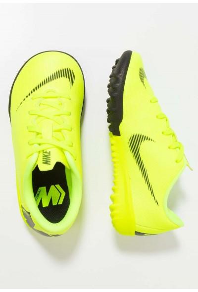 Nike MERCURIAL VAPORX 12 ACADEMY TF - Chaussures de foot multicrampons volt/black