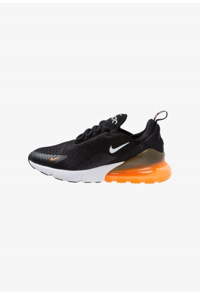 Nike AIR MAX 270 - Baskets basses black/white/total orange