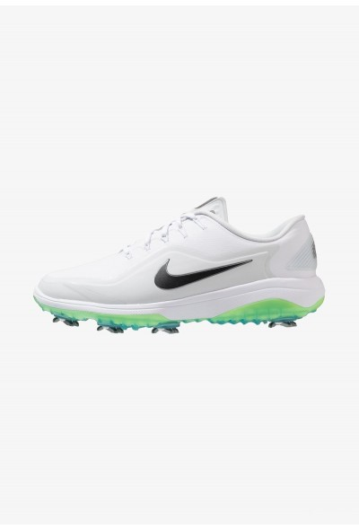 Nike REACT VAPOR  - Chaussures de golf white/medium grey/pure platinum/volt glow