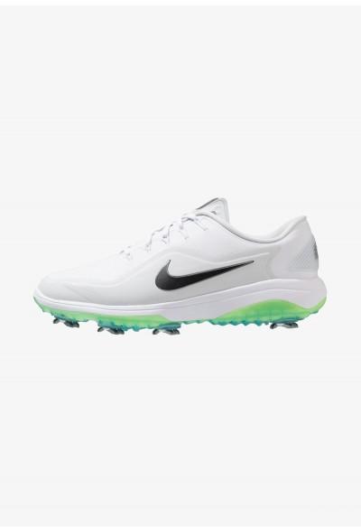 Nike REACT VAPOR  - Chaussures de golf white/medium grey/pure platinum/volt glow