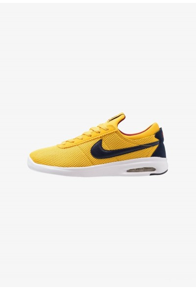 Nike AIR MAX BRUIN VPR TXT - Baskets basses yellow ochre/obsidian/red crush/white